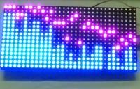 Free shipping neon stick digital SCM mcu kit  electronic pov DIY digitalRGB full color LED 16X32 dot matrix
