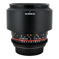 Rokinon 85mm t/1.5 Aspherical Lens for Canon #CV85M-C   FREE  SHIPPING