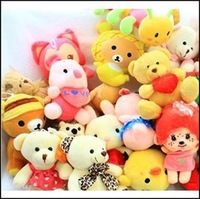 Plush toy doll   wedding doll  toy inventory 10-15cm 1lot/100pcs