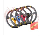 Modified car momo steering wheel 14 aluminum alloy automobile racing steering wheel