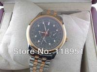 The new moon phase weeks versatile 6-pin automatic mechanical sapphire diamond steel Swiss luxury men's watch