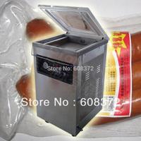 110V /220V DZ-400 single room plastic bag vacuum packaging sealing machine 1-4pcs/min
