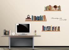 cheap bookshelf decorations
