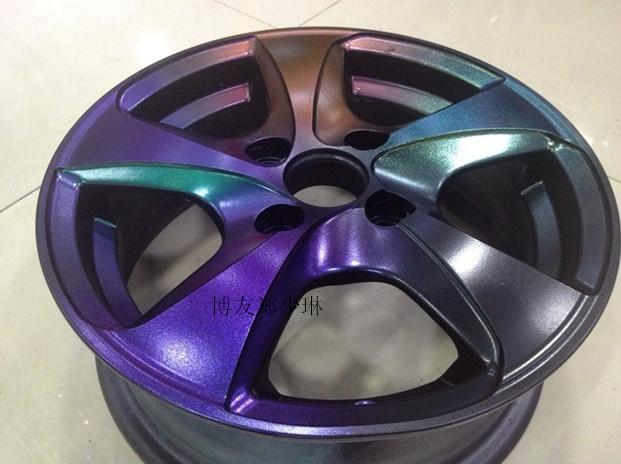 wheel spray film chameleons change color film body spray paint. Black Bedroom Furniture Sets. Home Design Ideas
