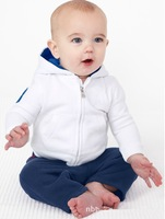Fashion baby suit/2-piece set: long-sleeved hoodies +long pants/Autumn baby sports suit