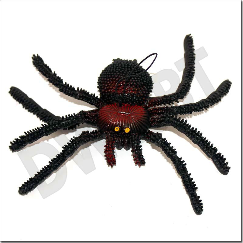 HUGE plastic SPIDER 10x17cm amazing best April Fool's Day Toy Gift Joke Prank Trick Fun special present creative gift Brandnew(China (Mainland))