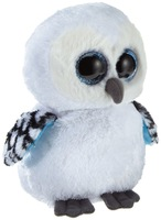 Free shipping TY Big Eye Stuffed Animal Snowy Owl Plush Toys 15cm cute owl toy kawaii soft toys for children