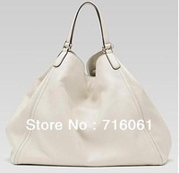 2014 Brand designers Interlocking women shoulder bag 282308 full leather cowhide handbag first layer leather messager bag