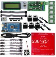 3D printer  + reprap ramps1.4  + Mage2560  + 5xA4988 + Reprap smart RAMPS1.4 LCD2004 display controller