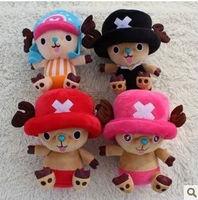 18cm tony tony chopper girlfriend's gift kids toy kids doll birthday presents one piece free shipping