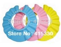 10pcs/lot adjustable Baby Safety Shampoo Shield Hat,kid's bath shower cap Bath Shower Wash Hair Shield Hat Cap