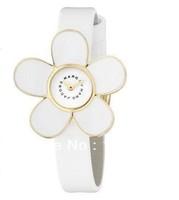 fashion watch Valentine's Day gift watch Ladies Chrysanthemum watch Refinement white Daisy flower leather watch woman