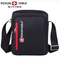 Wenger swiss gear noblr man bag male shoulder bag messenger bag casual business bag