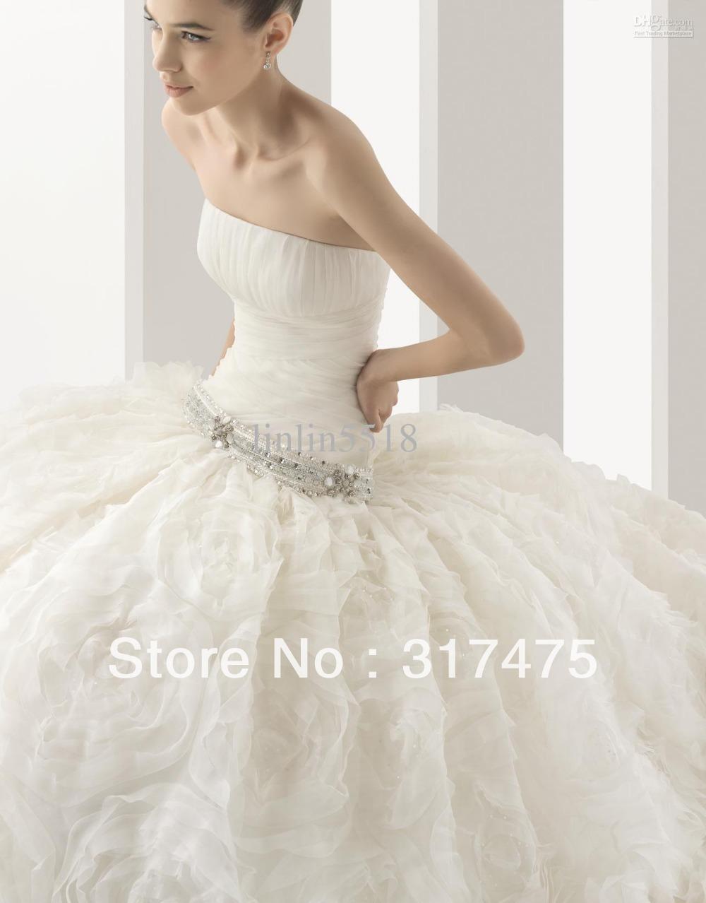 Fall-Hochzeitskleid Farben