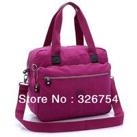 The new large-capacity washing bag waterproof nylon handbag fashion sports travel bag Shoulder Messenger Bag