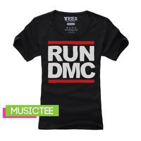 Short in size l female summer short-sleeve T-shirt rundmc hiphop street hip-hop hiphop clothes