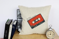Tape creative wedding home ornament pillow case cushion cover min1lot/2pcs promotion love gifts
