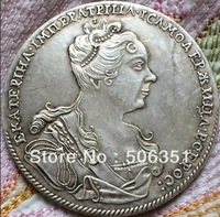 FREE SHIPPING wholesale 1727 russian coins 1 Rouble  copy 100% coper manufacturing old coins