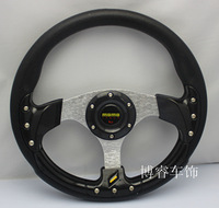 Free Shipping special offer imitation MOMO racing / athletic steering wheel / modification PU steering wheel 13-inch