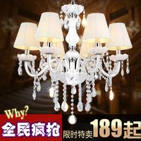Fashion rustic crystal pendant light fashion pendant light living room lights princess child crystal lamps lighting