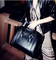 2014 New women handbag fashion brief crocodile pattern shoulder messenger bag leather bag 200-11