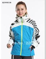 Ski suit female outdoor hiking clothing thickening skating ski skiing suit thermal underwear set cotton-padded coat