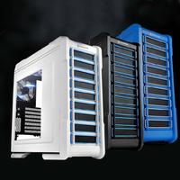Assembled desktop 4 quad-core computer host type diy 2g i3 i5 i7 full set