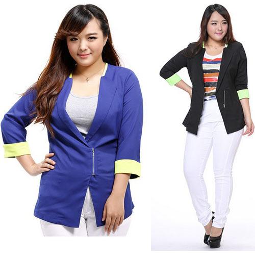 Alibaba выразить верхний женщины большой одежда одежда половина рукав пальто куртки feminino пиджак костюм для женщин женское дамы