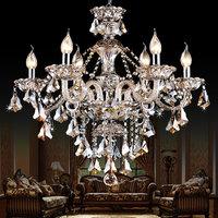 K9 crystal chandelier lighting Modern luxury crystal pendant Chandelier light lighting for bedroom living room dining room light