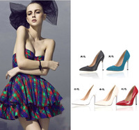 DD  Mushroom shoes 2014 fashion shallow mouth pointed toe high-heeled single shoes