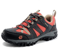 Free Shipping Women Genuine leather Hiking Shoes Walking Shoes Wear-resistant Off-road Sport Sasual Shoes 2 Color CLB-8811