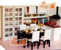 Dollhouse doll house mini furniture whole fresh luxury