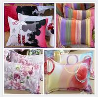 Reactive print pillowcases  home textile envelope-type plain pillowcase pillow case pillow cover wholesale retail free shipping