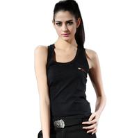 Outdoor casual wear 0312 women's 101 black pure cotton vest Color;Black/Army Green Size:M L XL