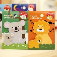 Free shipping Creative cute cartoon animal parentage N times posted the sticky notes memo note 20pcs/lot