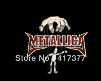 New Metallica Controlled Figure by Hand Thrash Heavy Metal with Bone Head Plastic Case for iPhone 4 4G 4S 5 5G 5S 5C