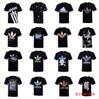 2014 new style! Brand men Hip-hop cotton t-shirts, high quality creative short sleeve T-shirt + free shipping
