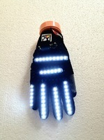 light night bar gloves creative led gloves for stage dance use birthday Christmas gift free shipping
