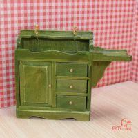 MINI CLUB- Bjd doll house mini furniture model green laundry pool 22054