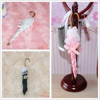 MIN CLUB- Mini dollhouse doll house bjd exquisite princess parasol 60023 three-color