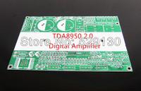2.0 amplifier digital amplifier tda8950 150W*2 large watt   with speaker protection Balanced input PCB board