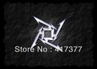 New Metallica Logo White In Black Heavy Metal Plastic Case for iPhone 4 4G 4S 5 5G 5S 5C