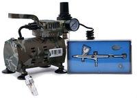 U-STAR U-611 Mini Air Compressor + HD-180 Airbrush + U-STAR AC-33 Airbrush Mini Water Filter