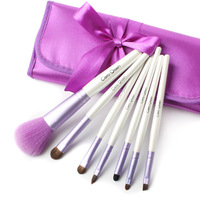 Cosmetic brush makeup tools cerro qreen 7 purple set cosmetic brush set