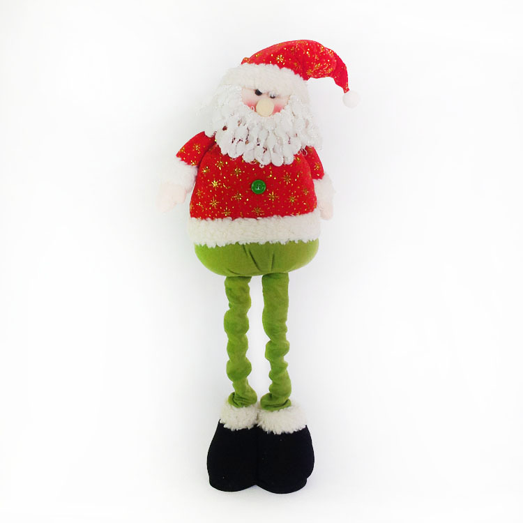 Itemship- Christmas Gifts Christmas tree decoration Telescopic Santa Claus snowman elk Doll (Santa Claus)(China (Mainland))