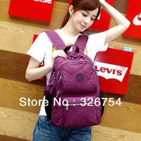 2013 new girls backpack shoulder bag leisure bag computer bag schoolbag