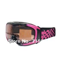 Snow  Ski Goggles Ski Snowboard Sports Skate motorcycle Glasses for ski UV400 Protection CE Anti-Fog  112BKPK02