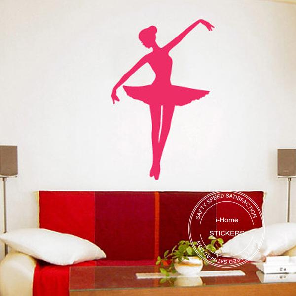 Ballet Girl Ballerina 2 Vinyl Wall Art Wall Stickers Decals For Kids