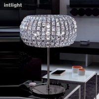 Big crystal lamp modern lighting lamps personality