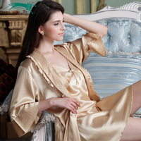 Girl country. The new 2014 women pajamas. Sexy fashion nightgown. Condole belt nightgown emulation silk leisurewear two-piece